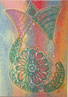 Tulip by Ruby OpalTones #doodles #tulip #flower