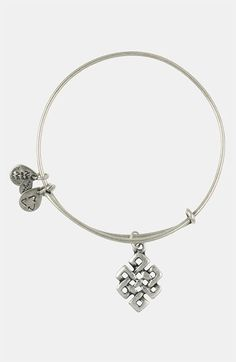 Alex and Ani 'Endless Knot' Expandable Wire Bangle | Nordstrom