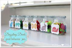 Dazzling Deeds: good behavior jars - Mama Miss