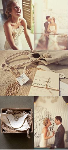 Natural & Sand Beach Wedding Invitations #camillestyles #calligraphy