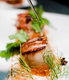 For a more fine-dining experience, head to Uchiko - Japanese farmhouse dining. foodi fun, austin texas, austin restaurants, favorit food, eat, scallop, yummi food, austin tx, uchi austin