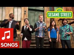 Sesame Street: Pentatonix Counts (& Sings) to Five. Solo/Duet/Trio/Quartet/Quintet. Rondo form. Coda.