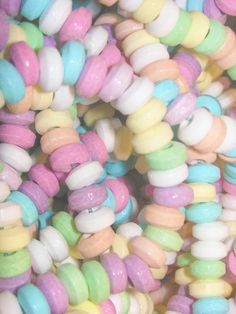 Candy sweet tart necklaces