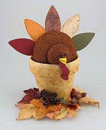 Air Freshener Turkey Centerpiece | FaveCrafts.com