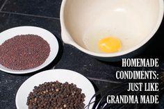 homemade condiments