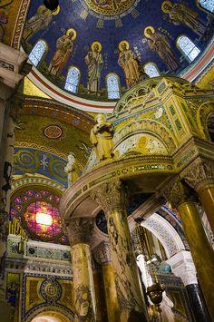 Cathedral Basilica of St Louis Missouri aka The New Cathedral - Catholic church - amazing mosaics