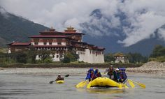 Rafting in Bhutan, thinking about offering trips here as well...