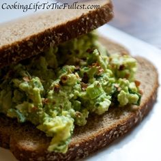 Avocado, Spinach and Egg Salad