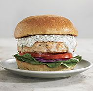 Salmon Burgers with Dill Tartar Sauce sandwich, food, salmon burger, dresses, burger recipes, burgers, eat, tartar sauc, dill tartar