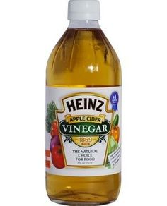 One of the best cleansers for vinyl flooring is apple cider vinegar. The acidity in the vinegar helps remove dirt and grime without leaving a buildup of soap or wax. Simply mix one cup of cider vinegar with a gallon of hot water and use a damp mop to clean, rinsing the mop frequently with hot water. Substitute white vinegar for cider vinegar if you want to disinfect as you clean.