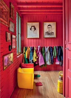 Children's room by Belgian interior designer Alain Gilles | Elle Decor Italia Oct 2011