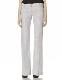 Drew Striped Flare Pants from THELIMITED.com #TheLimited #LTDWellSuited