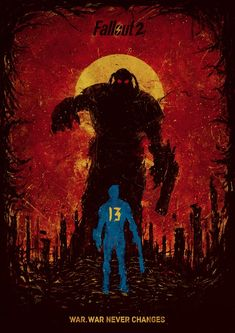 Fallout 2 Fan-poster by Helixb You've gotten a lot farther than you should have - but then you haven't met Frank Horrigan either. Your ride's over, mutie. Time to die.