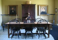 Rich & Carolyn Green's Dining Room - Russellville, Missouri windsor chairs
