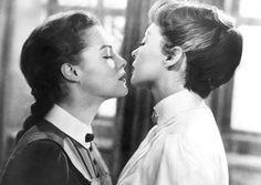 """Romy Schneider y Lilli Palmer, """"Corrupción en el internado"""", 1958"""