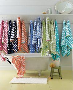 Garnet Hill Towels