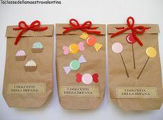 I dolcetti della befana #epifania #calze #befana