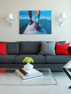 Create a Focal Point - Designers' Best Budget-Friendly Living Room Updates on HGTV