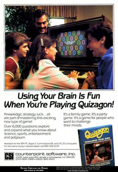 Using Your Brain Is Fun When You're Playing Quizagon!