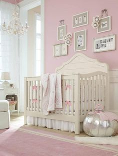Pretty pink girls nursery