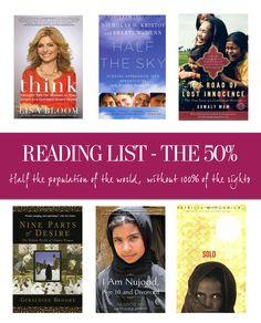 """Who Run The World? Girls!"" Reading List"