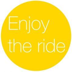 the journey, ride, sunni yellow, life, happi, inspir, enjoy, quot, live