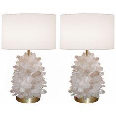 quartz lamps.