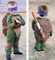 Homemade Donatello Costume - Teenage Mutant Ninja Turtles