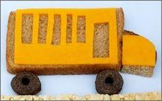 school bus sandwich