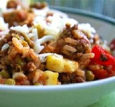 "Mexi Ground Beef-Rice Skillet: ""Great! I was missing a couple ingredients, but the base of this recipe is good enough that one can play around with different ingredients and still come out with a fantastic, easy meal. "" -Kiki Freebird"