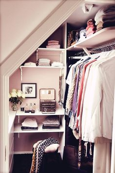 Closets should always be organized
