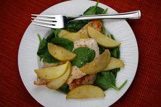 Apple Spinach Chicken