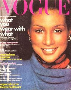 Beverly Johnson- first African American Vogue cover model