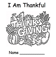 """FREE LANGUAGE ARTS LESSON - """"Thanksgiving Emergent Reader - I Am Thankful"""" - Go to The Best of Teacher Entrepreneurs for this and hundreds of free lessons.  http://www.teacherspayteachers.com/Product/Thanksgiving-Emergent-Reader-I-Am-Thankful"""