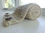 Free Crochet chunky cross stitch cowl Pattern
