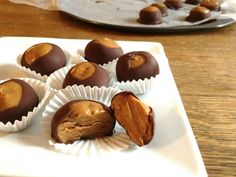 food recip, almonds, butter buckey, buckeyes, creami almond, almond butter, paleo holiday treats, gluten free, dessert