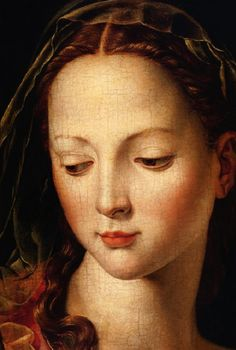 Madonna with child & Saint John detail, 1540-50  Agnolo Bronzino