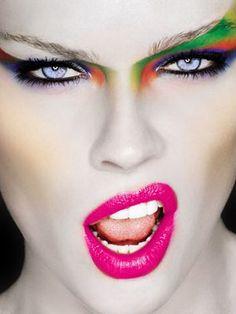#1980's makeup