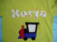 Camisetas Locomotorizadas!! / Cosetes de Marta - Artesanio