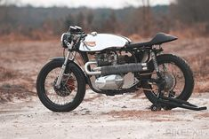 Triton motorcycle-Loaded Gun Customs - via Bike EXIF