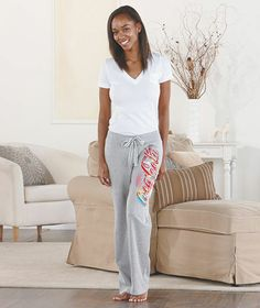 Women's Licensed Sweatpants|The Lakeside Collection