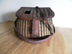 George Lawrence Antique Fishing Creel by TheVirtualAttic on Etsy, $500.00