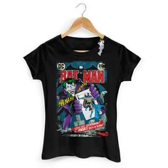 Camiseta Feminina Batman 75 Anos HQ Nº 251 #Batman75Anos #DCComics #Batman75