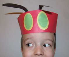 Hungry Caterpillar Hats
