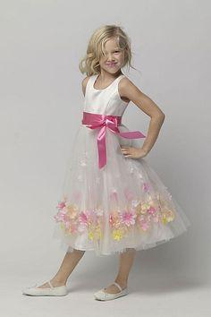 Seahorse Flower Girl Dress