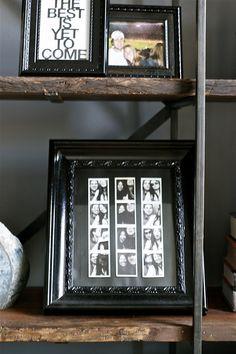 framing photo strips