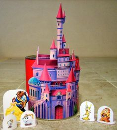 Belle´s Castle. Free Printable.