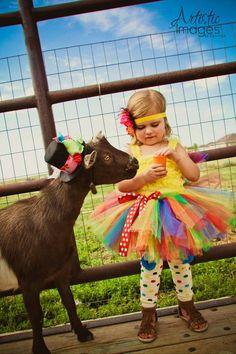 How cute is this Rainbow Tutu by atutudes on Etsy? #rainbowtutu #party #rainbow #tutu