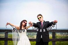 Read all about Denise + LJs techno party wedding (in a vineyard) on Poptastic Bride. Photos by Anna Bruce.