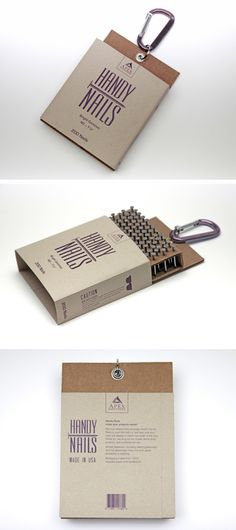 Handy Nails by Melissa Archer, via Behance